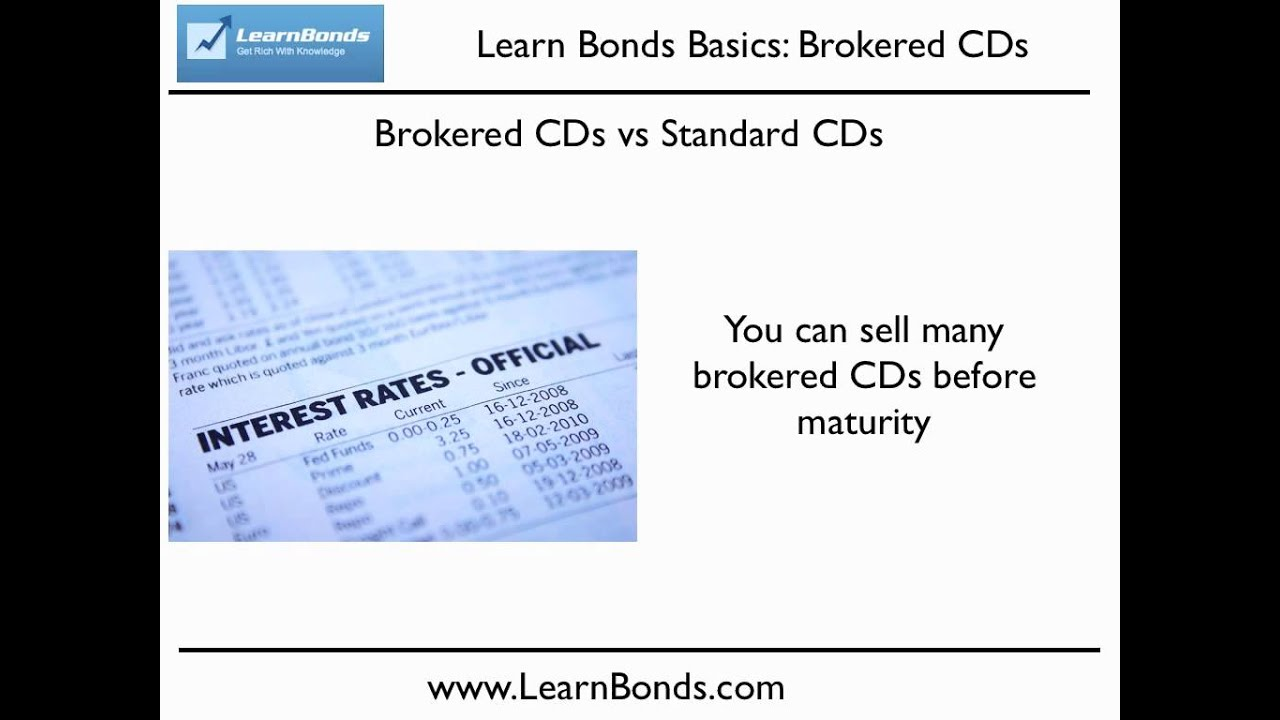 Brokered cds get a better rate on cds youtube brokered cds get a better rate on cds xflitez Images