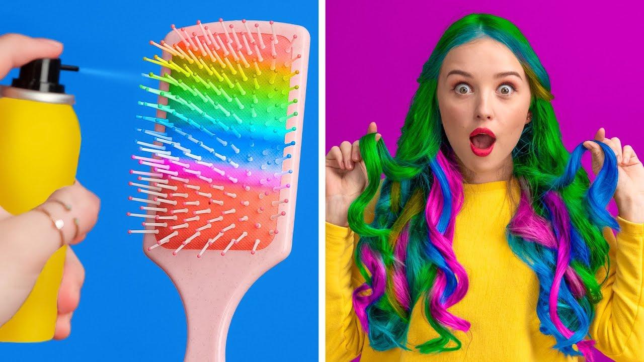 COOL GIRLY AND BEAUTY HACKS || Smart DIY Beauty Hacks For Girls