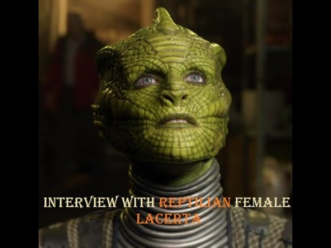 Interview with Reptilian female Lacerta (With Clear Audio and Subtitles)