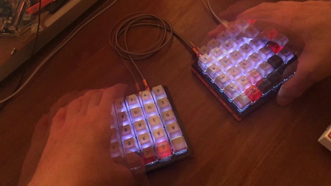Nyquist Split Keyboard