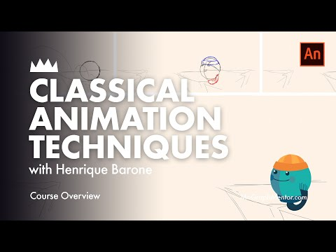 Classical Animation Workflow & Techniques Trailer