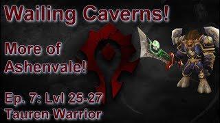 S06E07: Wailing Caverns! (Tauren Warrior) - Battle for Azeroth Playthrough