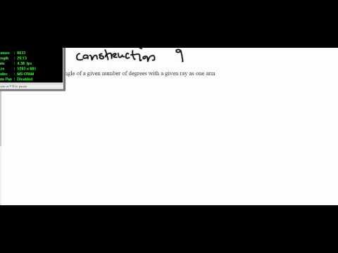 Junior cert constructions