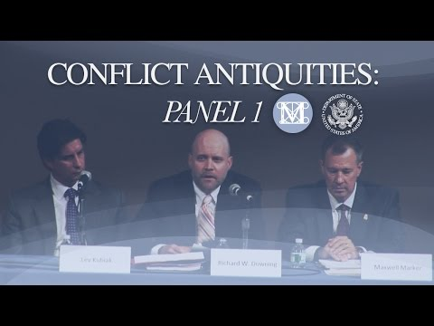 Panel 1 Conflict Antiquities