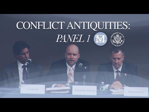 Panel 1 Conflict Antiquities