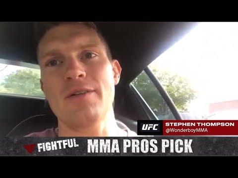 MMA Pros Pick - Robbie Lawler vs. Rafael Dos Anjos (UFC on FOX 26)