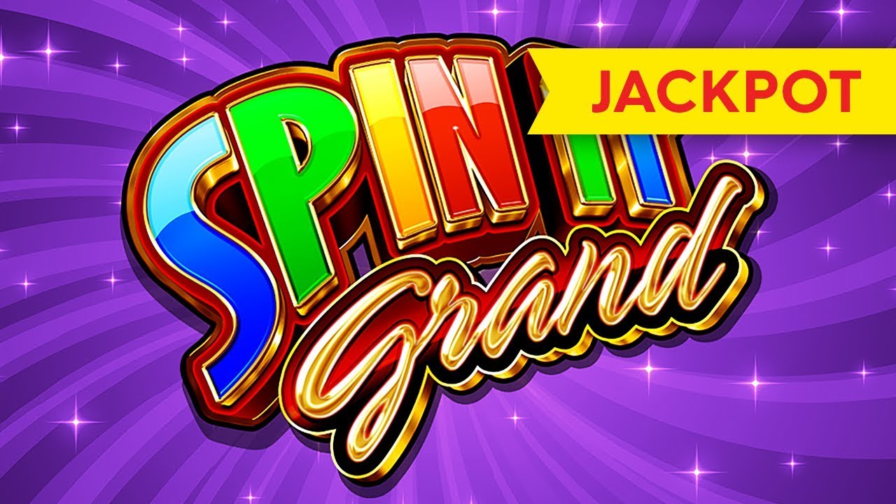 JACKPOT HANDPAY! Spin It Grand Slot - INCREDIBLE COMEBACK!