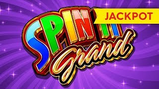 JACKPOT HANDPAY! Spin It Grand Slot - INCREDIBLE COMEBACK!