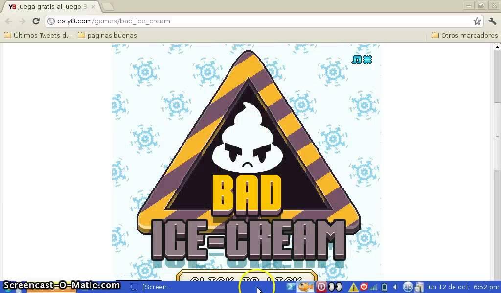 Bad Ice Cream Episodio 2 Y8 Youtube