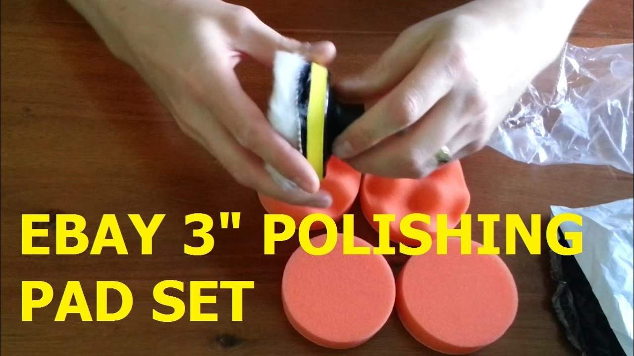 harbor freight buffing pads. ebay / amazon 3 inch polishing pads review harbor freight buffing g