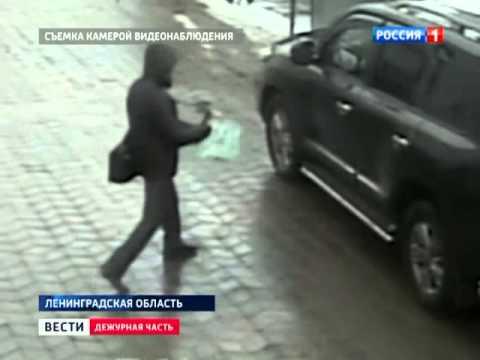 Видео: бизнесмен чудом выжил при покушении. Вести 24