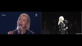Download WHAT REALLY HAPPEN WHEN CHRISTINA AGUILERA SANG I WILL ALWAYS LOVE YOU Mp3 and Videos