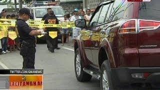 BT: SUV, pinagbabaril ng umano'y naka-unipormeng pulis; nadamay na lalaki, patay