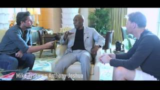Mike Tyson explains why Anthony Joshua is special