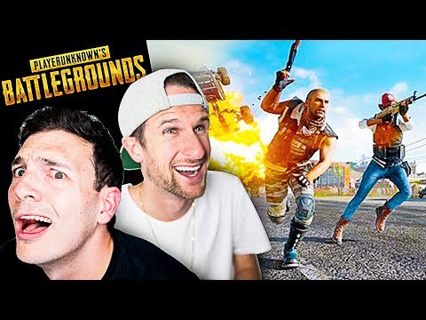 Player Unknown's Battlegrounds with Nick!! • PUBG is Awesome!