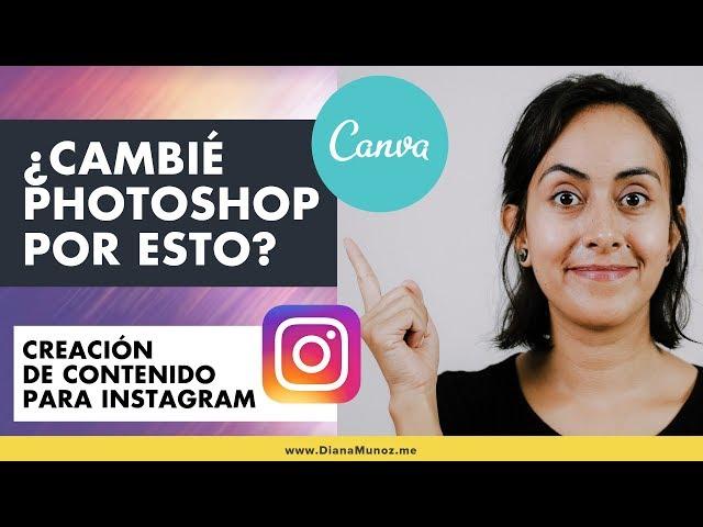 Canva para Instagram (🔥 Mi experiencia con Canva y por qué me gusta tanto) | Diana Muñoz