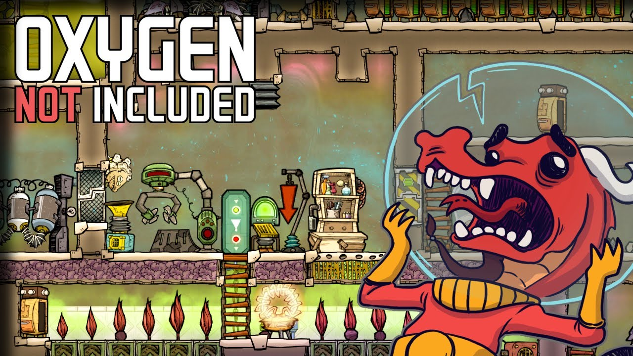 Drecko Ranch – Oxygen Not Included Gameplay – Let's Play Part 4