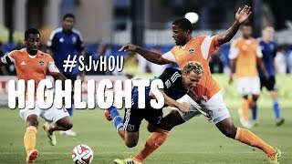 HIGHLIGHTS: San Jose Earthquakes vs Houston Dynamo | May 25, 2014