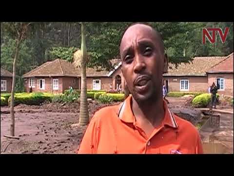 Kisiizi hospital floods, patients stranded, drugs washed