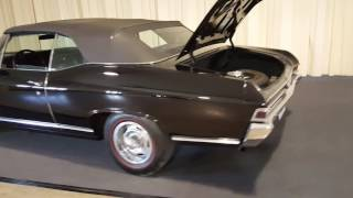1968 Chevelle triple black
