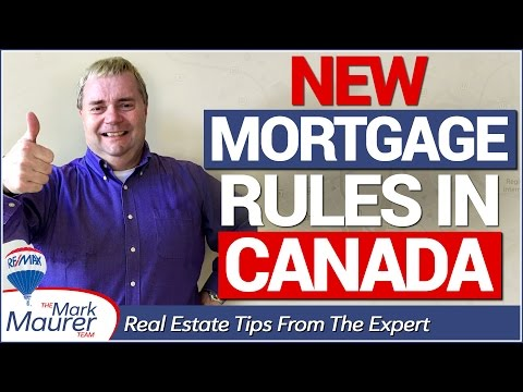 Living in Kitchener-Waterloo - New Mortgage Rules In Canada