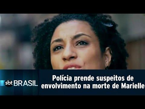 Polícia prende dois suspeitos de envolvimento na morte de Marielle Franco | SBT Brasil (24/07/18)