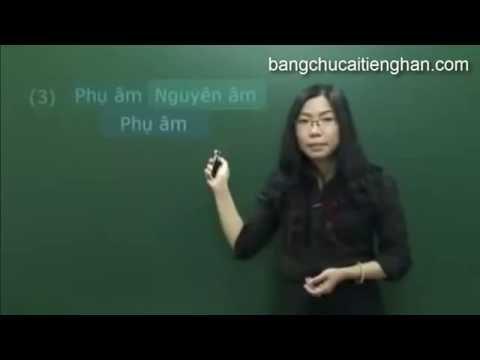 [Học Tiếng Hàn] Cách đọc và phát âm bảng chữ cái tiếng Hàn chuẩn nhất