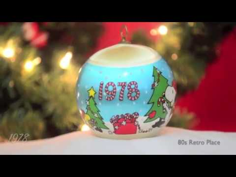 1970s christmas ornaments snoopy 1977 1979