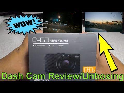 Apeman Dash Cam C450