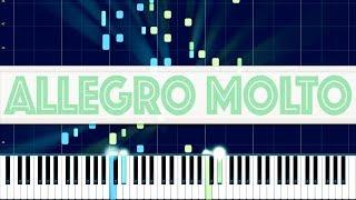Beethoven: Piano Sonata No. 13, II. Allegro molto e vivace // KODAMA