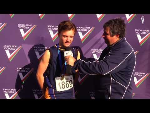 Ayden Dignan // Frankston High School Wins Gold at the SSV State Cross Country Championships