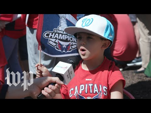 D.C.'s youngest Capitals fans celebrate the Stanley Cup | Short Takes