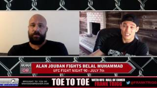 UFC Fight Night 90's Alan Jouban: 'I want to put away this guy early'