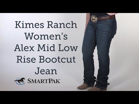 Kimes Ranch Women's Alex Mid Low Rise Bootcut Jean Review