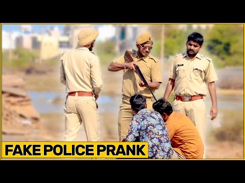 Epic Fake Police Prank | Ft. Bhasad News | The HunGama Films