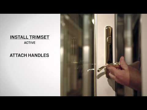 Lock Mechanism Replacement on Andersen® Frenchwood Hinged Inswing Patio Doors