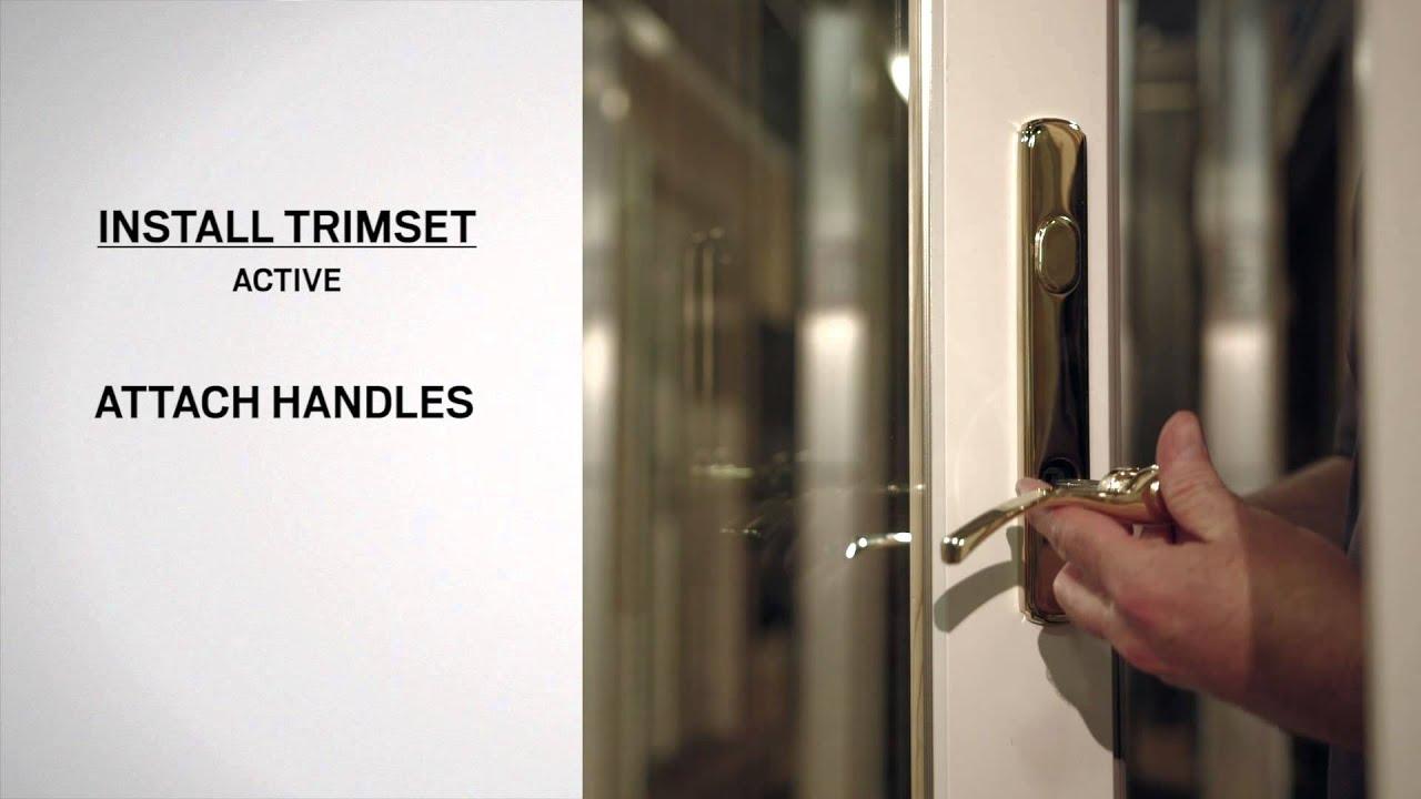Lock Mechanism Replacement on Andersen Frenchwood Hinged Inswing Patio Doors  YouTube