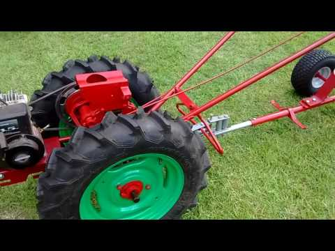 David Bradley tractor ready