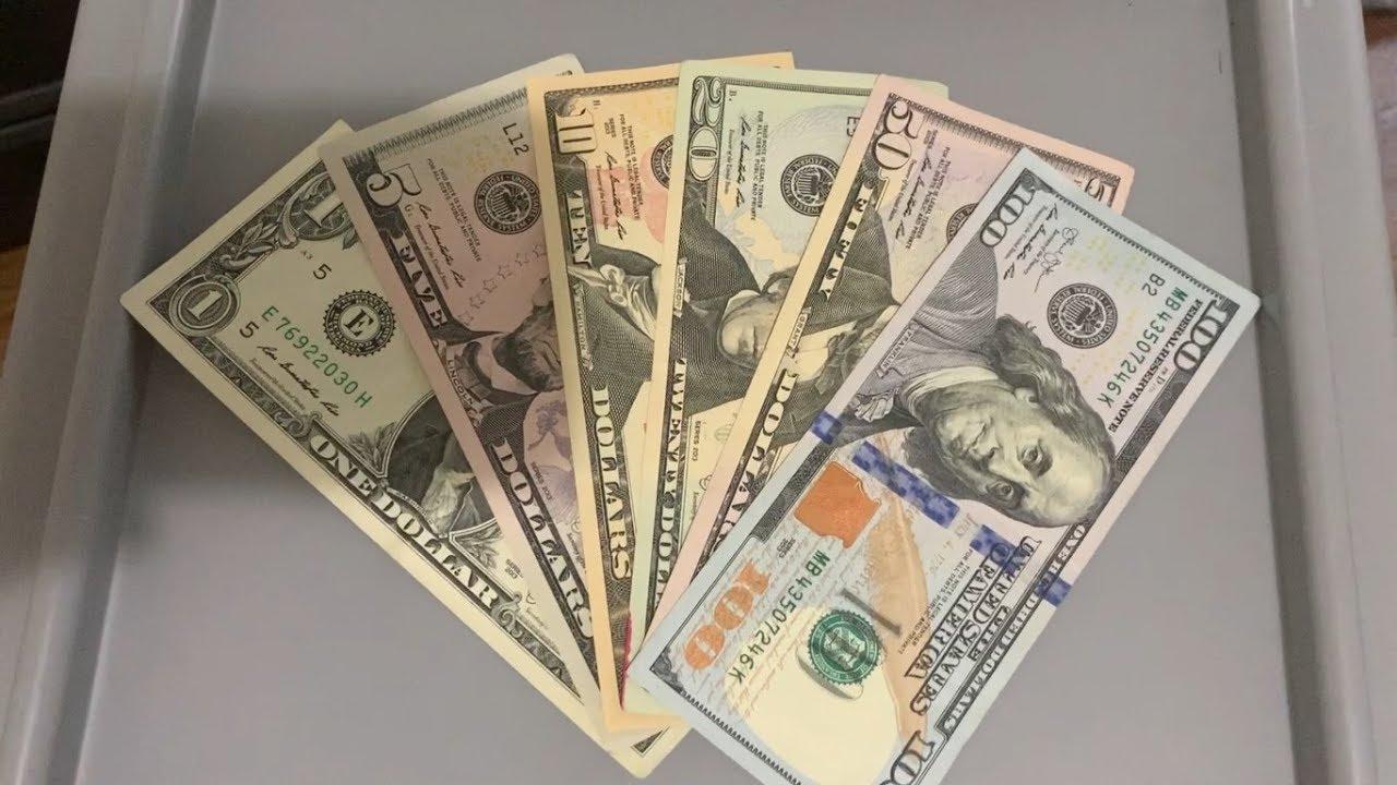 Download Conheça as cédulas de Dólar