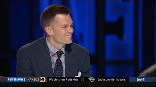 Tom Brady Reacts To Landing On NFL 100 All-Time Team