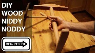 DIY Wood Niddy Noddy