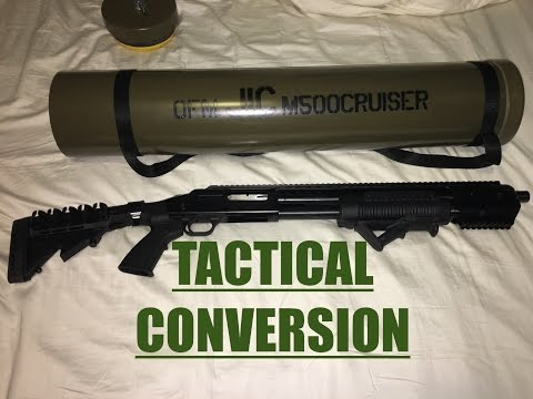 Mossberg 500 Tactical Conversion