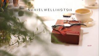 (협찬) 다니엘웰링턴 시계 I LOVE U box 남편…