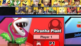 How to Get Piranha Plant in Super Smash Bros Ultimate