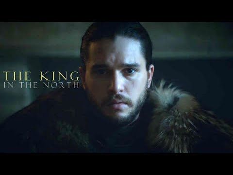 Jon Snow - The King in the North (GoT)