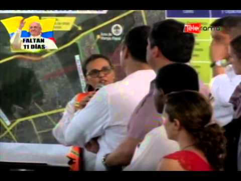 Presidente Correa recorrió parque Samanes para misa campal