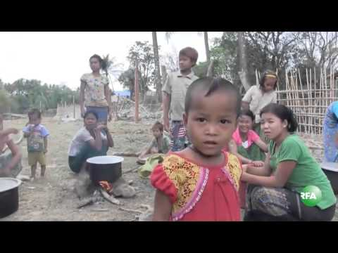 Fighting in Rakhine and War Refugees