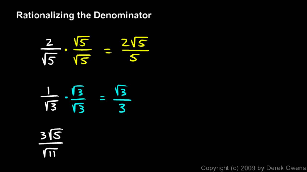 algebra how to get x out of the denominator