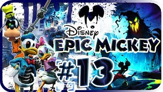 Disney Epic Mickey Walkthrough Part 13 (Wii) Haunted Mansion + Boss (Mad Doctor) [No Commentary]