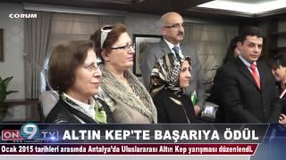 Vali Ahmet Kara, Antalya Uluslararası Altın Kep Yarışması'nda dereceye giren Bahçelievler Mesleki ve